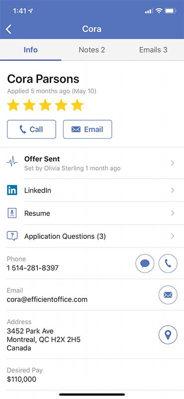 Mobile Hiring App 4